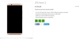 ZTE Axon 2 Oppomart