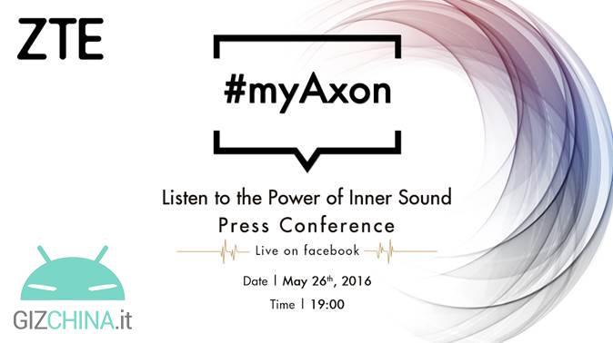 Evento ao vivo ZTE Axon 7