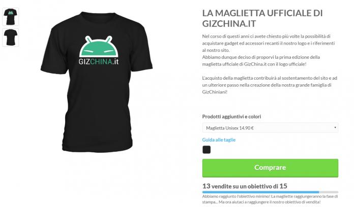T-shirt GizChina.it