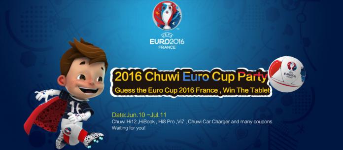 Promoção Euro 2016 chuwi
