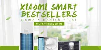 GearBest Xiaomi Smart Bestsellery