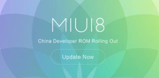 Xiaomi Miui 8 China Desenvolvedor