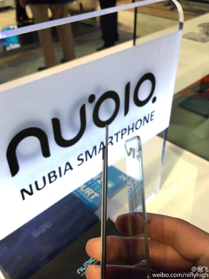 Mostrador sem moldura Nubia Z11 GM