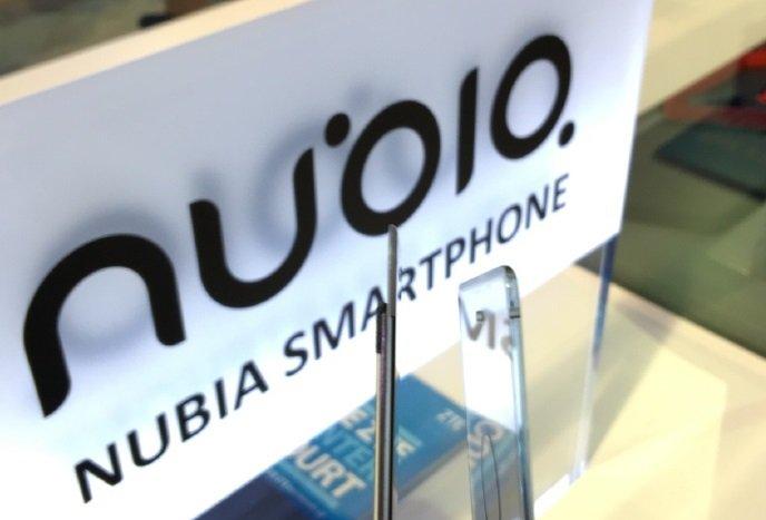 Logotipo da Nubia