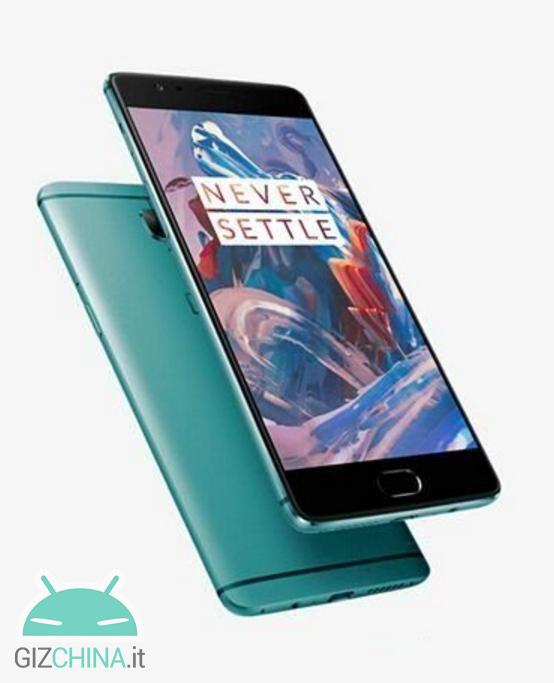 OnePlus 3 verde