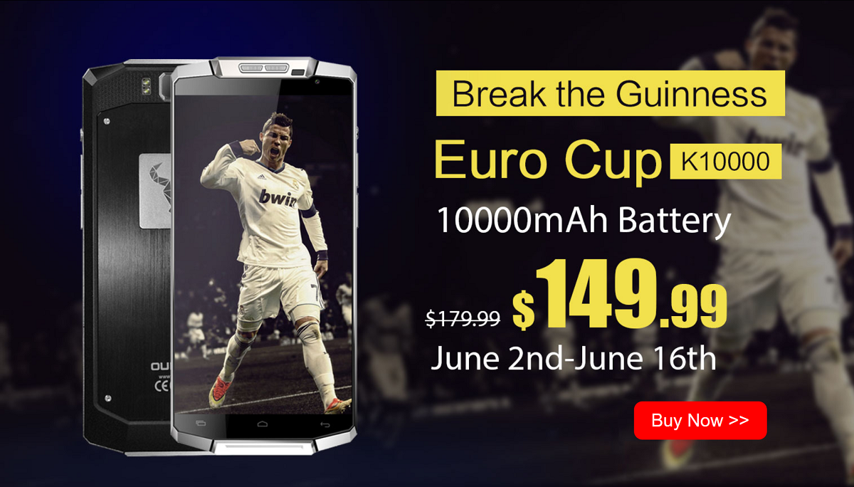 Oukitel UEFA CUP 2016