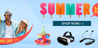 TinyDeal Summer Sale Event