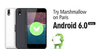 Ulefone paris android marshmallow