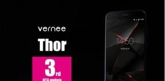 Vernee Thor terzo aggiornamento OTA