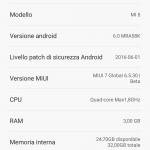 Xiaomi mi 5 miui 6.5.30