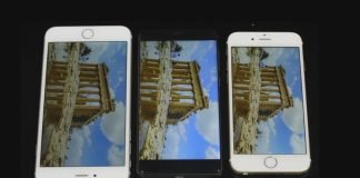 Elephone S3 confronto iPhone 6 e 6 Plus