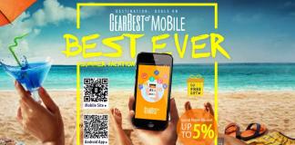 Maior promoção de verão Gearbest 2016