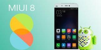 Miui 8 en Xiaomi Mi 5