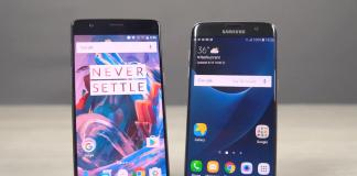 OnePlus 3 repara la RAM Samsung Galaxy S7 comparación