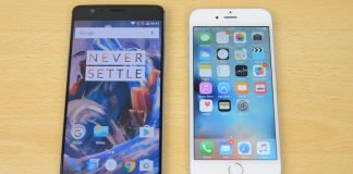 OnePlus 3 iPhone 6s confronto sensore impronte digitali