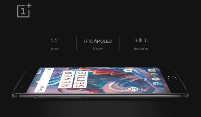 OnePlus 3 Optic AMOLED