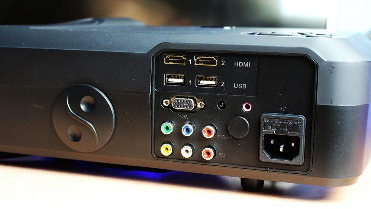 projetor com entrada USB