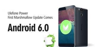 Ulefone Power primo aggiornamento OTA Marshmallow
