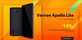 Vernee Apollo Lite flash-sale GearBest