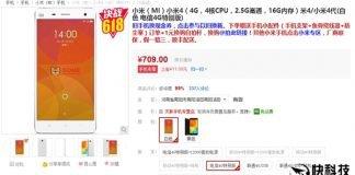 Descuento Xiaomi Mi 4 Gome
