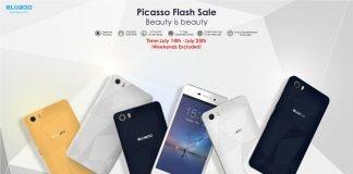Bluboo Picasso vendita flash