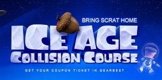 Curso de Colisão da Ice Age da GearBest