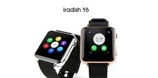 Smartwatch Iradish y6