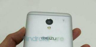 Vazamento de fotos Meizu M1E