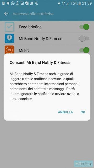 Mi Band Notify ahora es compatible con Xiaomi Mi Band 2