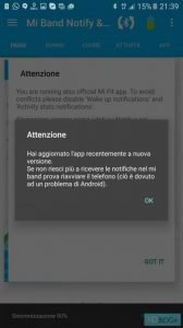 Mi Band Notify Xiaomi Mi Band 2