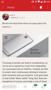 OnePlus Community app beta