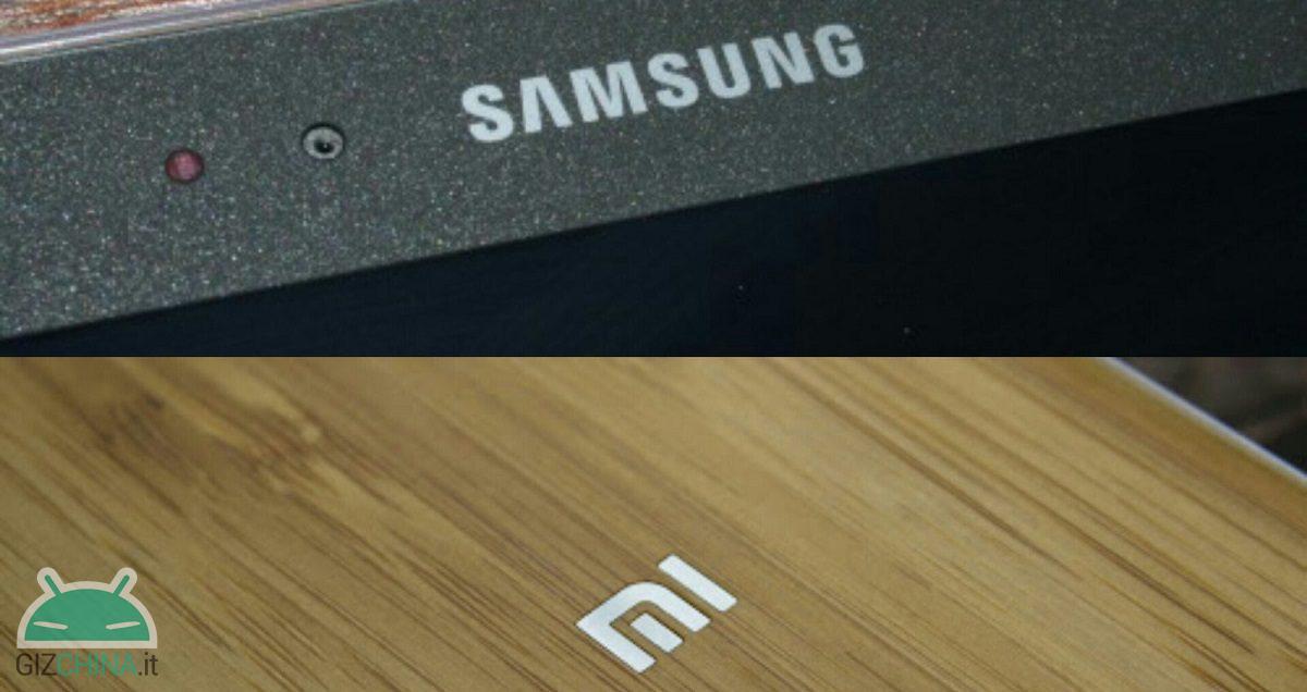 Logotipo de Samsung Xiaomi