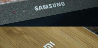Samsung Xiaomi logo