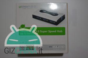 Ugreen Hub Super Speed 7 porte