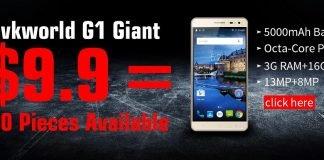 VKWorld G1 Giant concorso