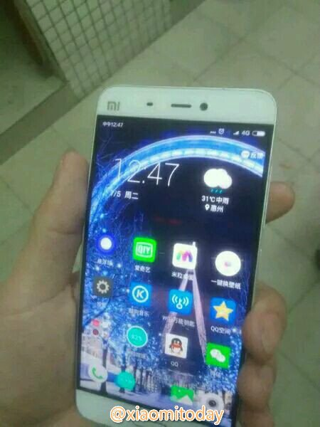 Xiaomi Mi Note 2 foto leaked