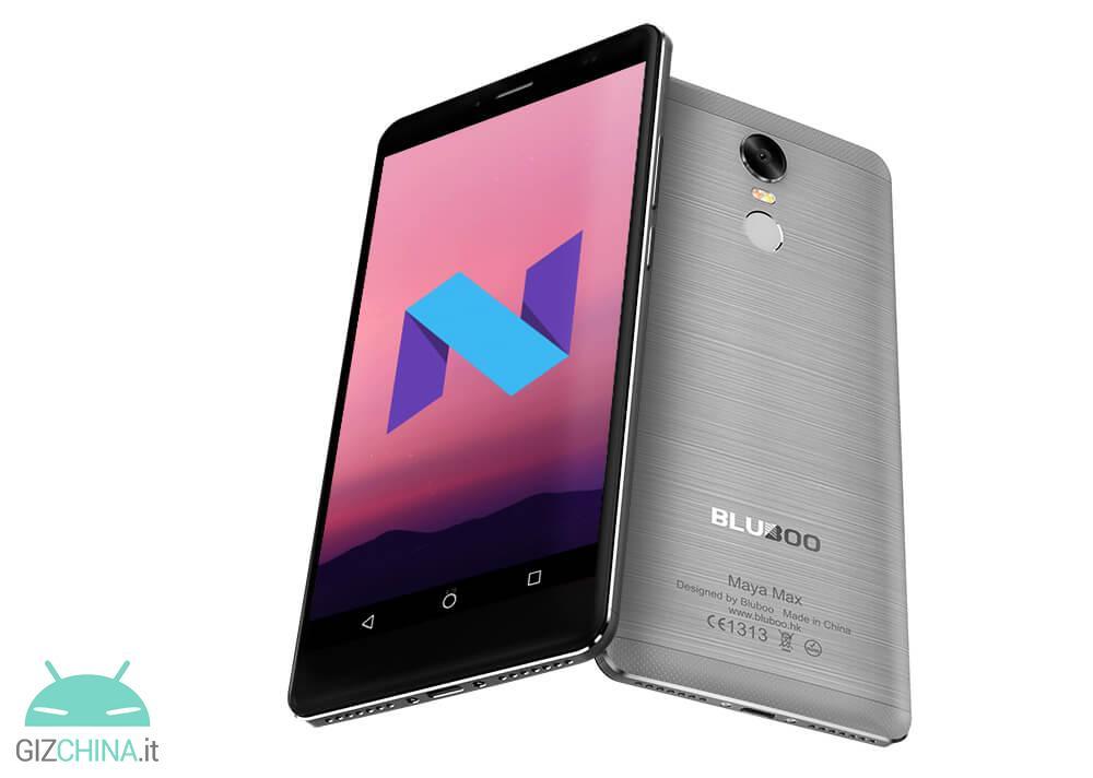 Bluboo Maya Max Android 7.0 Nougat