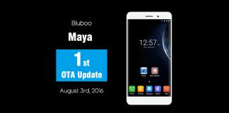 Ota de atualização de maya de bluboo