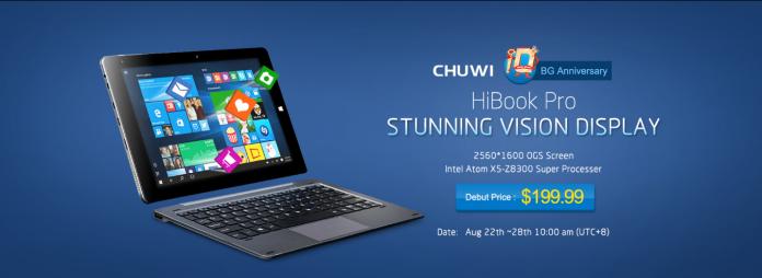 Chuwi HiBook Pro BangGood