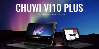 Chuwi Vi10 mais gearbest