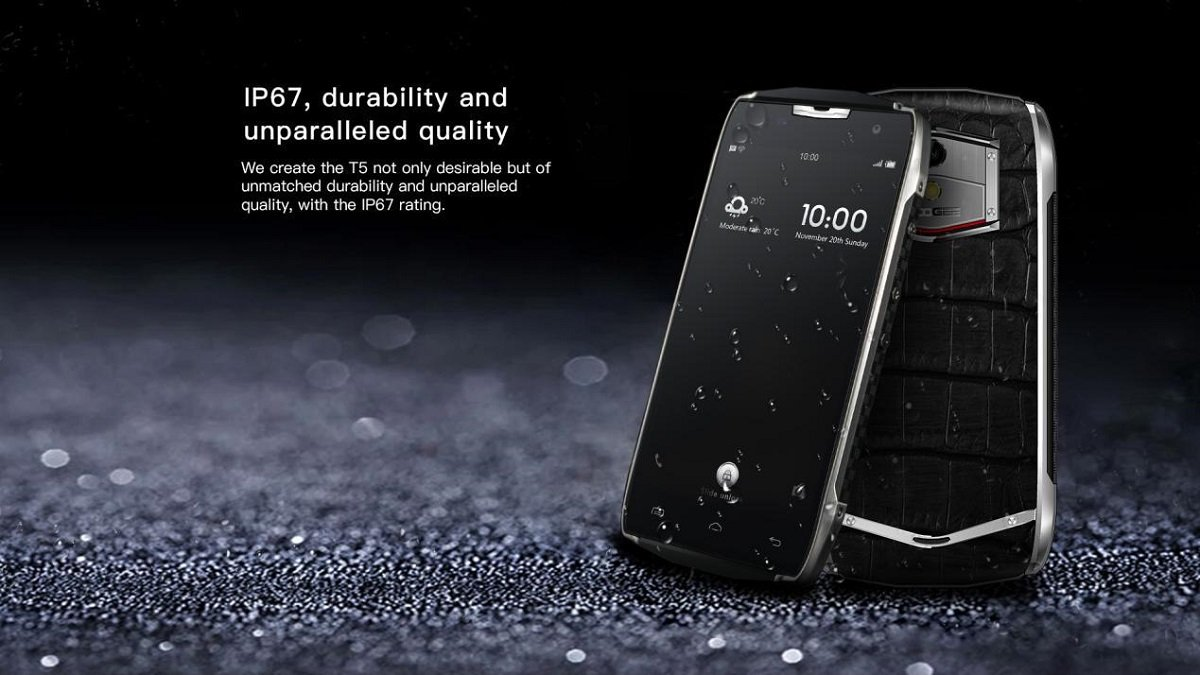 Pre Ordered Doogee T5 With 4500 Mah Battery And Ip67 Certification