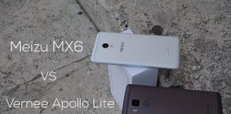 Meizu MX6 vs Vernee Apollo Lite