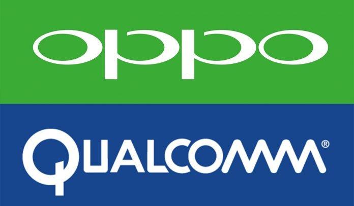 OPPO e Qualcomm logo