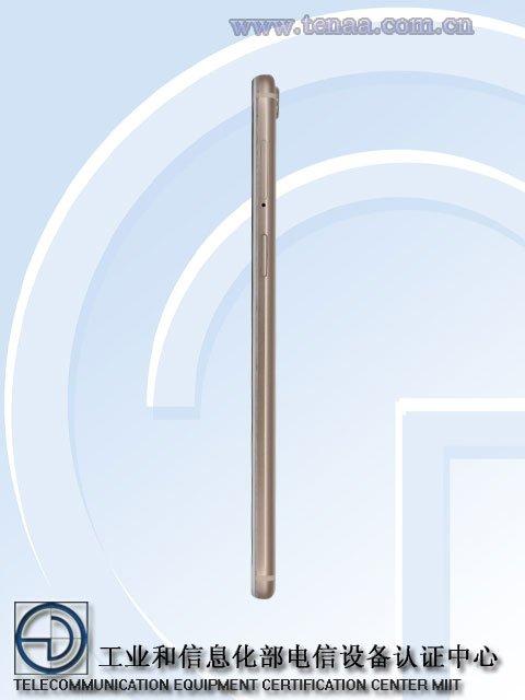 OPPO R9S TENAA