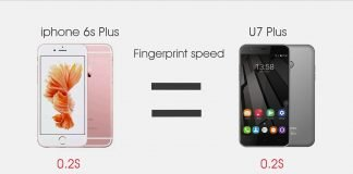 Oukitel U7 Plus vs iPhone da Apple 6s Plus