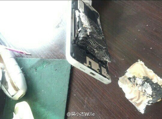 Xiaomi Mi 5 esploso