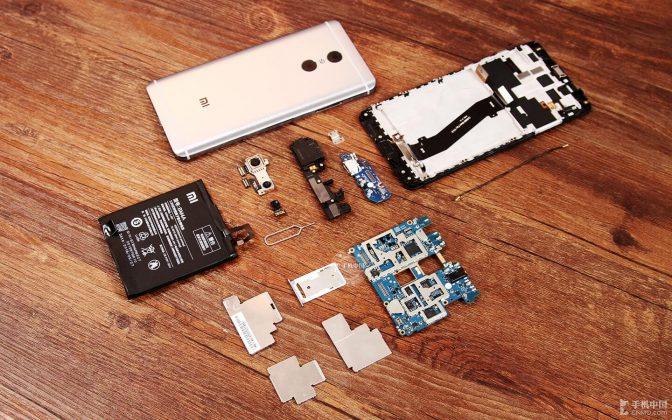 Xiaomi Redmi Pro teardown
