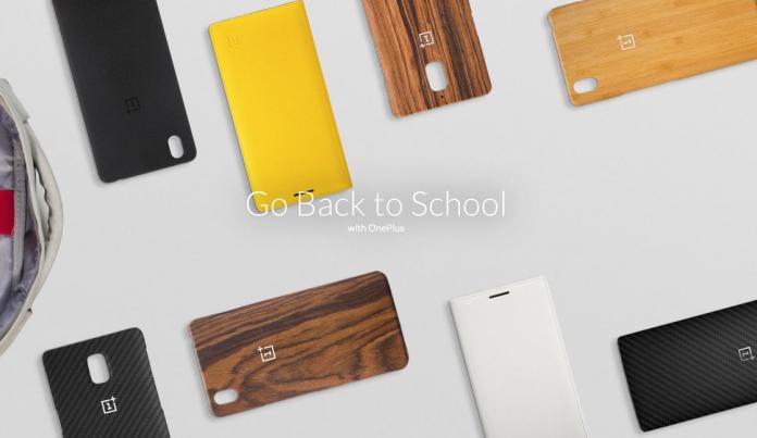 OnePlus de volta à escola