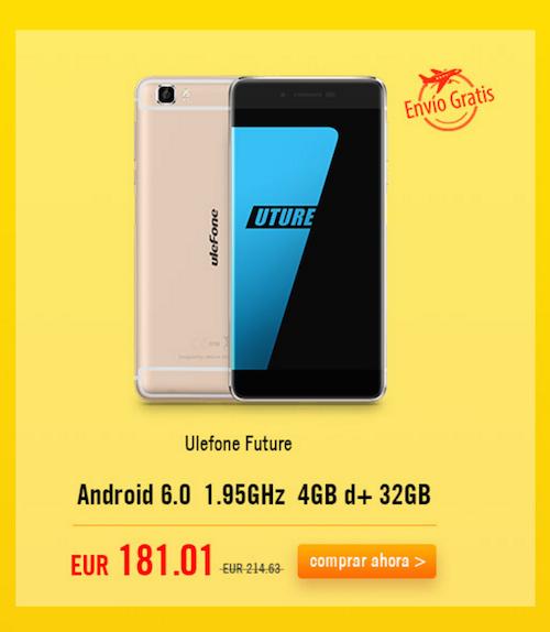 Ulefone Future offerta Igogo EUR42