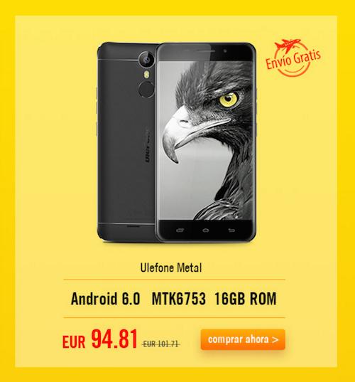 Ulefone Metal offerta Igogo EUR42